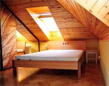 Łóżko Largas lity orzech amerykański / buk natura