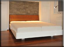 Biancu Duo - białe łóżko na wysoki połysk - Świnoujście