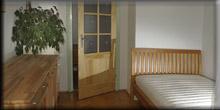Łóżko Amerika Rom wbuku naturalnym - Bydgoszcz