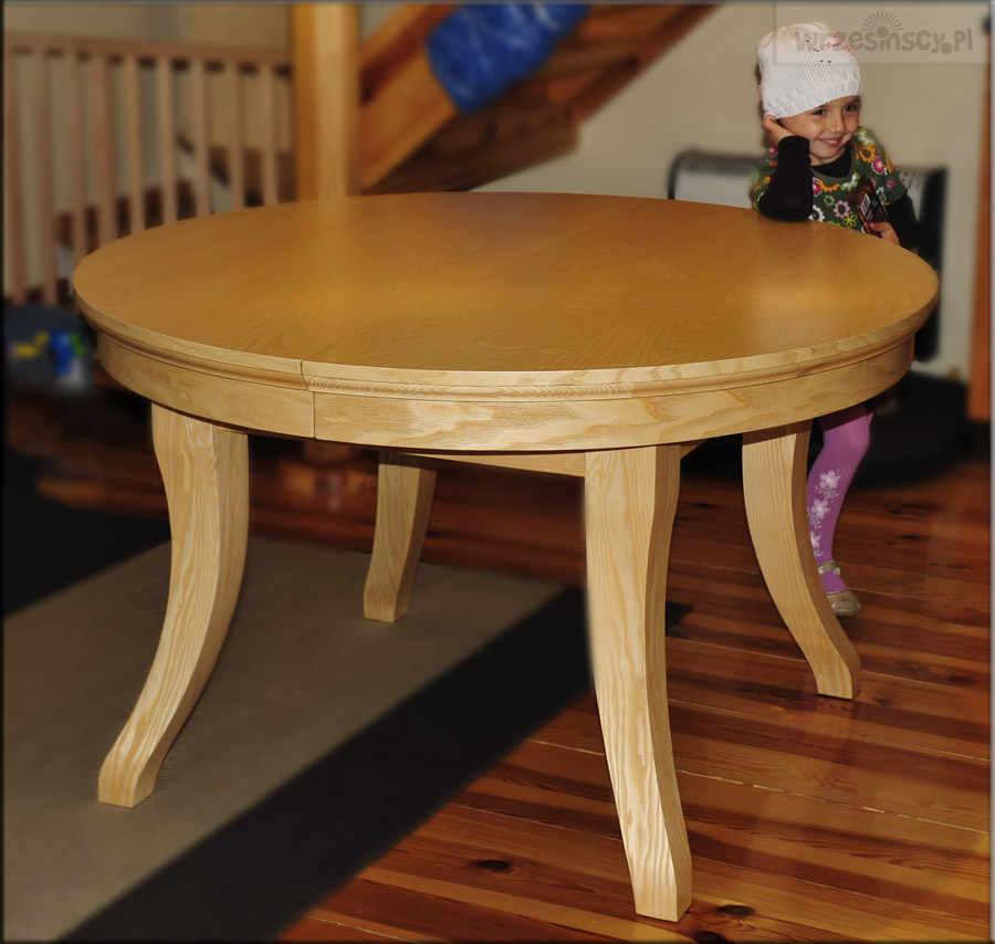 Jesionowy stół DIONIZOS - Środa Wielkopolska