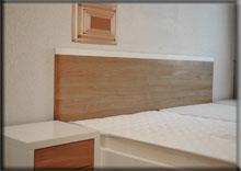 Łóżko zpojemnikiem na pościel - Bianco Piccolo Łódź