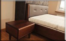 Łóżko jesionowe - Milano.
