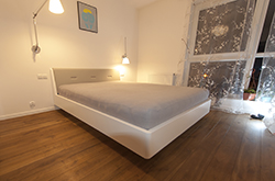 Łóżko Milano białe WARSZAWA