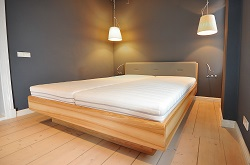 Łóżko Milano jesionowe zpojemnikiem na pościel Szczecin