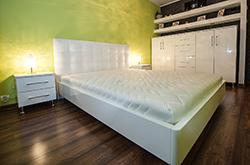 Łóżko Bianco Terra  - biały połysk - Ełk 2016