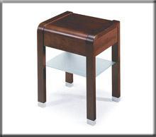 Cellini z szufladą na prowadnicach kólkowych i półką szklaną.